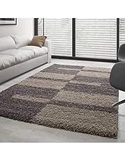 Carpettex Teppich Voor woonkamer, shaggy designpile lang, verschillende kleuren en maten verkrijgbaar.