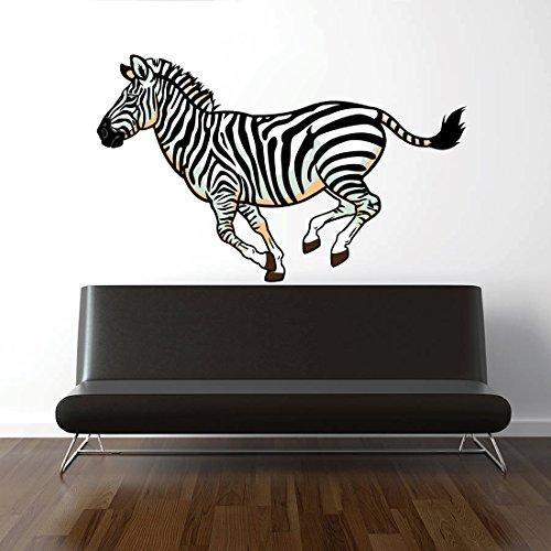 StickersForLife cik213 Full Color Wall Decal Zebra Animals of Africa Living Bedroom
