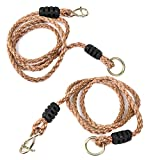 A AIFAMY Adjustable Tree Swing Rope Heavy Duty Hanging Straps Holds 700 Lbs, Pack of 2