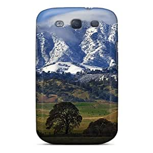 Awesome Case Cover/galaxy S3 Defender Case Cover(nature Mountains Mount Diablo)