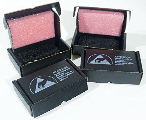 Anti Static Boxes - New Anti-Static IC Shipper with Foam Box, 3-7/16