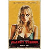 "GRINDHOUSE PLANET TERROR MARLEY SHELTON MOVIE POSTER(Size 24""x36"")"