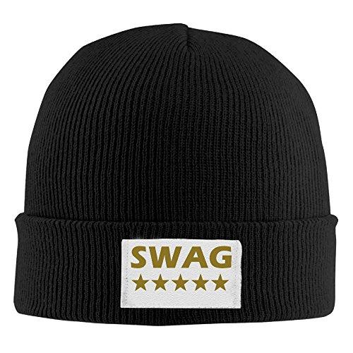 SWAG 5 Stars Beanie Hat Fashion Ski Warm Best Knit Caps Warm