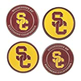 (4) USC Trojans Golf Ball Markers