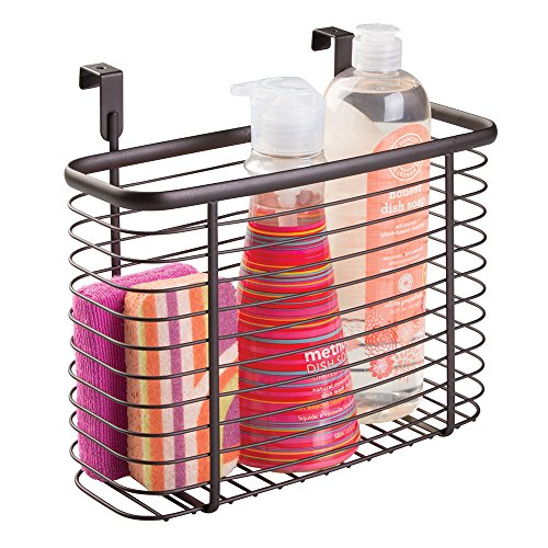 mDesign Over-the-Cabinet Hanging Kitchen Storage Basket