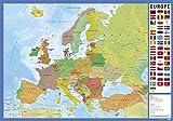 Grupo Erik editores tsef008–School Desk with Design Letter of Europe