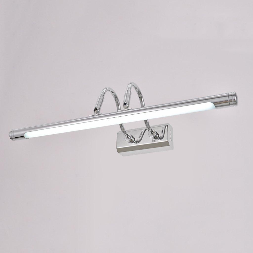 MoMo Spiegel-Licht-Einfacher Spiegel führte Spiegel-Kabinett-Licht-Badezimmer-Toiletten-Aufbereiter-Spiegel-Scheinwerfer-Umdrehungs-Kopf Wasserdichtes Langes