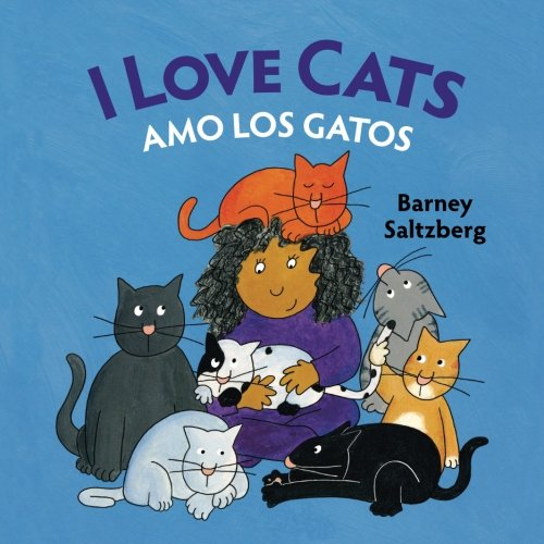 I Love Cats / Amo Los Gatos: Babl Childrens Books in Spanish and English Paperback – September 12, 2016
