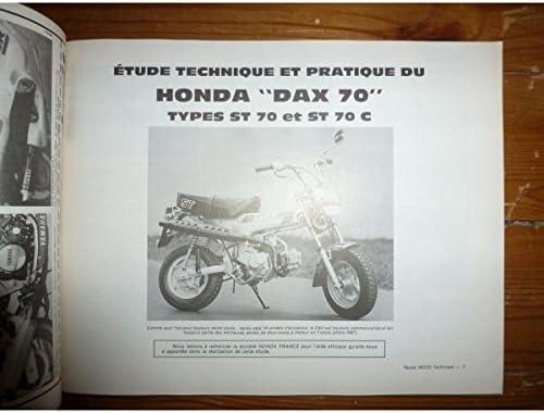 Rmt Revues Techniques Moto Dax St70 Fz750 Amazon Fr