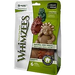 Whimzees Natural Grain Free Dental Dog Treats, Hedgehog Large