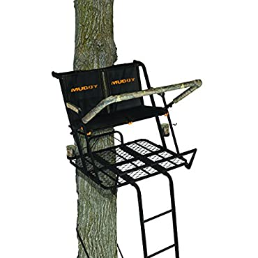 Muddy The Nexus 20 Foot Two Man Ladderstand With Safety Harnesses, MLS2600