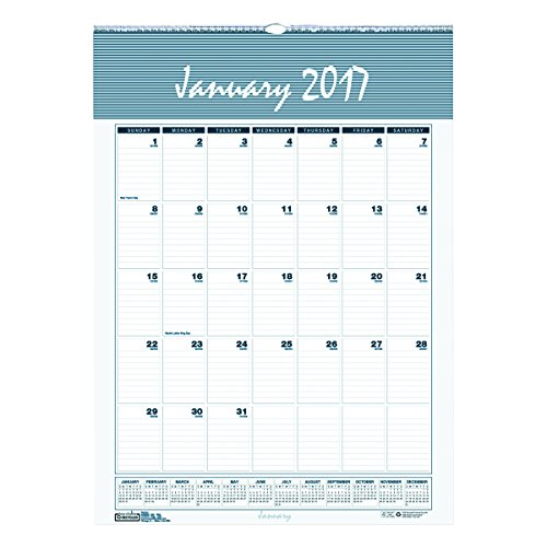 House of Doolittle 333 Bar Harbor Wirebound Monthly Wall Calendar, 15-1/2 x 22, 2011 (Bar 333)