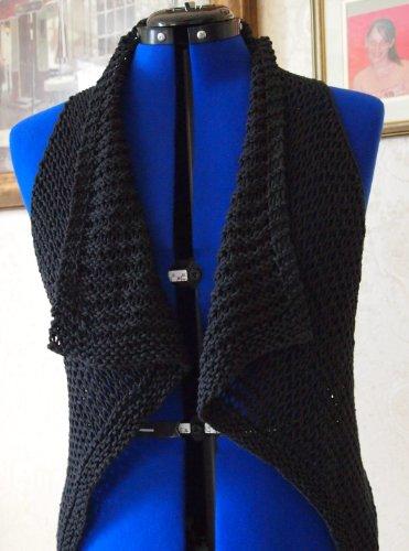 - Oh So Easy Vest Single Knitting Pattern