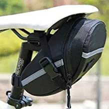 Yosoo Water-resistant Bicycle Seat Bag, Saddle Tail Rear Storage Bike Pouch Bicycle Cycling Bag Seat Sports Package