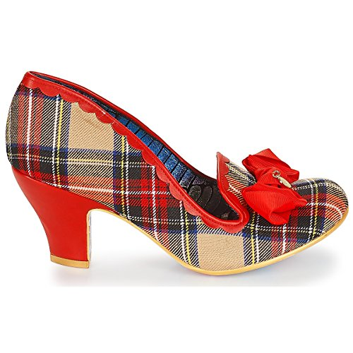 Beige Multi para Vestir Choice Beige Mujer Zapatos de Multi Rosa Rosa Irregular Av4Pqw