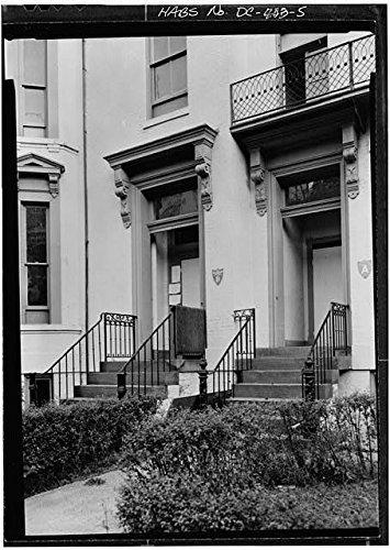 Photo: Orville E. Babcock House,Washington,District of Columbia,DC,HABS,4
