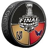 Sherwood 2018 NHL Stanley Cup Final Dueling Puck Vegas Golden Knights vs. Washington Capital