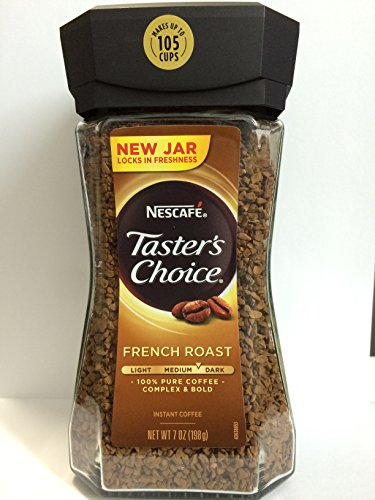 tasters-choice-french-roast-instant-coffee-new-jar-2-bottles-x-7-oz-canister
