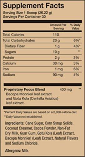 Javita FocusFusion Cocoa 30 Scoops