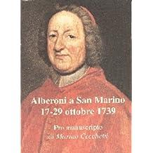 Alberoni a San Marino (Italian Edition)