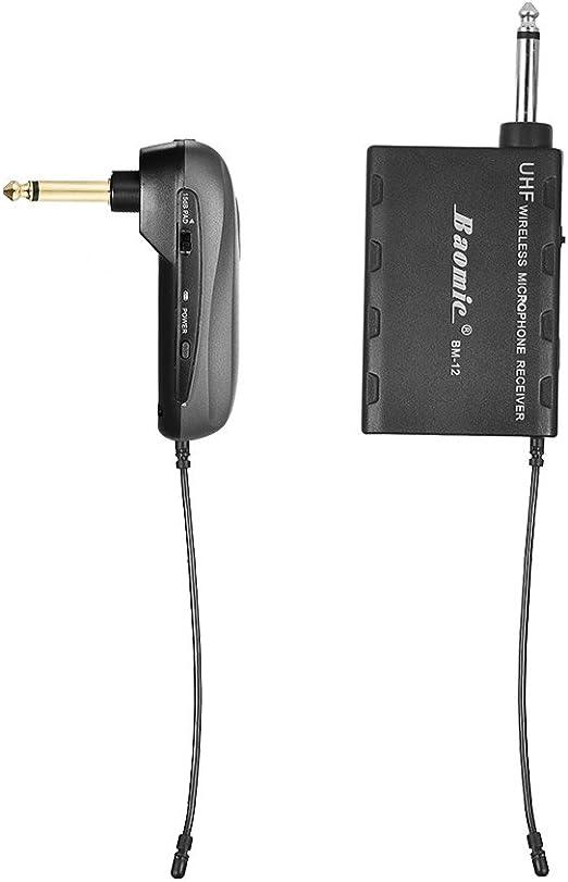 Ammoon baomic bm-12 a guitarra eléctrica UHF sistema de ...
