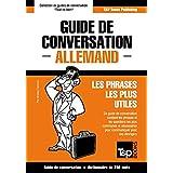 Guide de conversation Français-Allemand et mini dictionnaire de 250 mots (French Edition)