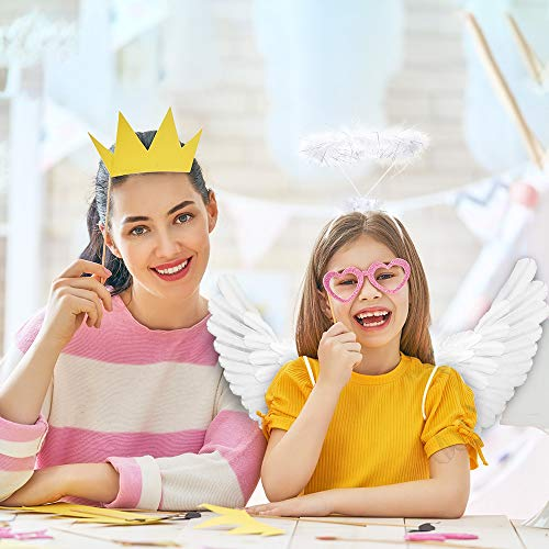 Angel Wings Angel Halo Kids White Angel Wings for Kids Angel Costumes for Girls Boys Child Feather W - http://coolthings.us