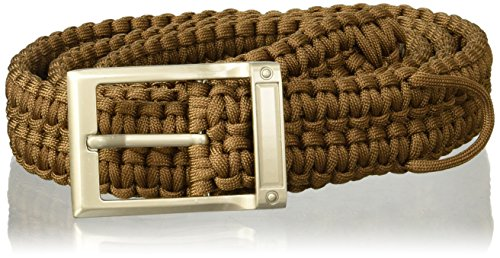 UPC 892708001270, Stone River Gear Paracord Survival Belt, Olive, X-Large
