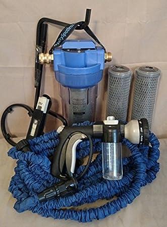 spotfree di-filter y sistema de lavado de coche con 50 FT Manguera y ajuste