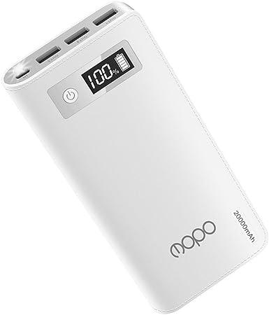 20000 mAh cargador portátil Mopo Power Bank Batería Externa ...