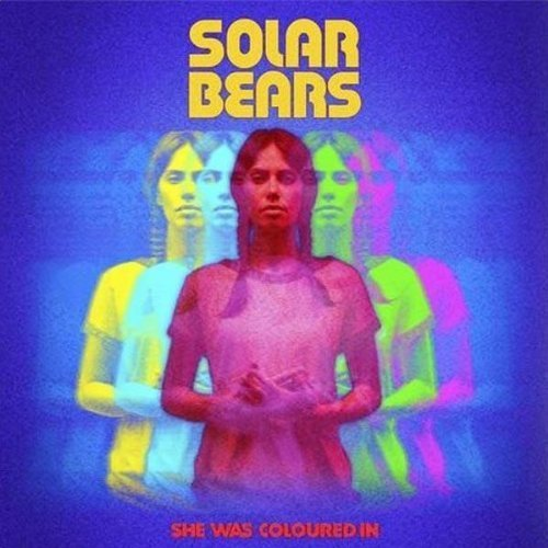 CD : Solar Bears - She Was Coloured In (CD)