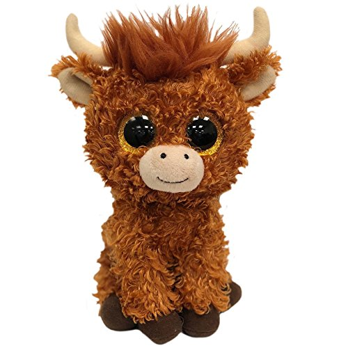 Ty Beanie Babies Boos 36659 Angus the Scottish Highland Cow - Cow Beanie