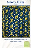 1 Moody Blues Quilt Kit from Frond Design Studios 74'' x 86''