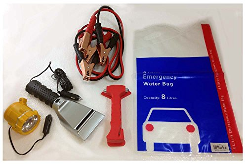 ToolUSA Deluxe Car Safety and Emergency Kit