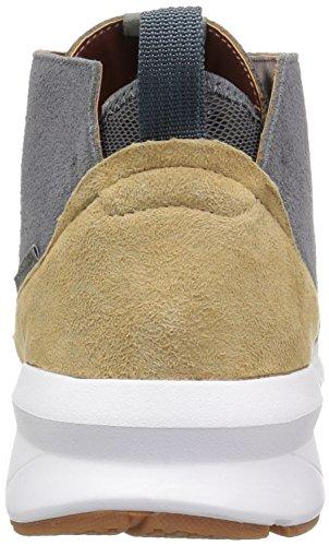 DC Men's Ashlar Skate Shoe, Raven Grey/Grey/White