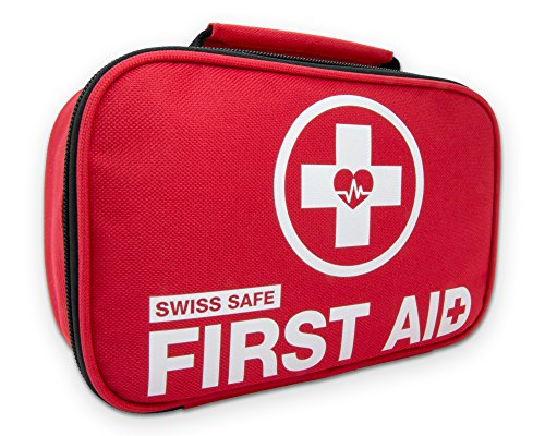 2-in-1 Lightweight First Aid Kit - Outdoors, Car, Camping, Workplace, Hiking, Survival.