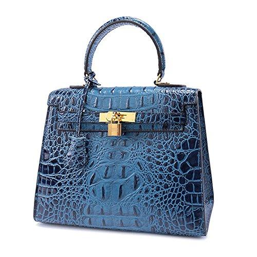 pour à Cru Crossbody Bandoulière Dames Cuir Sacs Sac Femmes Bleu Bag Main à SHELI Poignée Sacs en pour Supérieure à fB5wXZ0wxq