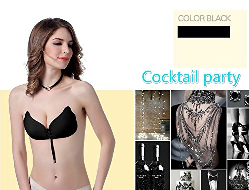 TraAcc-Pack-Of-2-Strapless-Backless-Silicone-Bra-Reusable-Push-Up-Sticky-Bras-For-Women