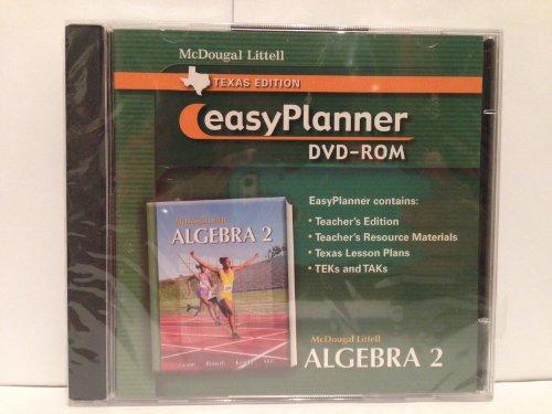 Holt McDougal Larson Algebra 2: EasyPlanner DVD-ROM Algebra 2