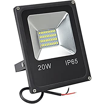 GLW Led Lights 20W 1200lm Spot Lighting Boat Led Lamp DC 12V-80V Daylight White Outdoor Security Light Waterproof Work Light