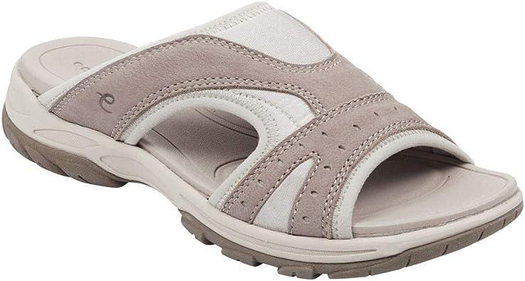 Oceana Slip-On Sandals Medium Gray