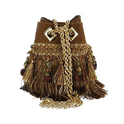 la carrie bag, Cartable pour Femme marron marron