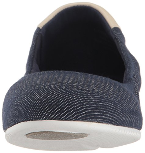 Flat Women's Dark Studiogrand White Cole Haan Ballet Optic Sandshell Denim qSwvIB