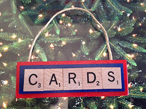 inals Baseball Christmas Ornament Scrabble Tiles (Louis Tile)