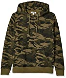 Amazon Brand - Goodthreads Men's Pullover Fleece Hoodie, Green Camo XX-Large