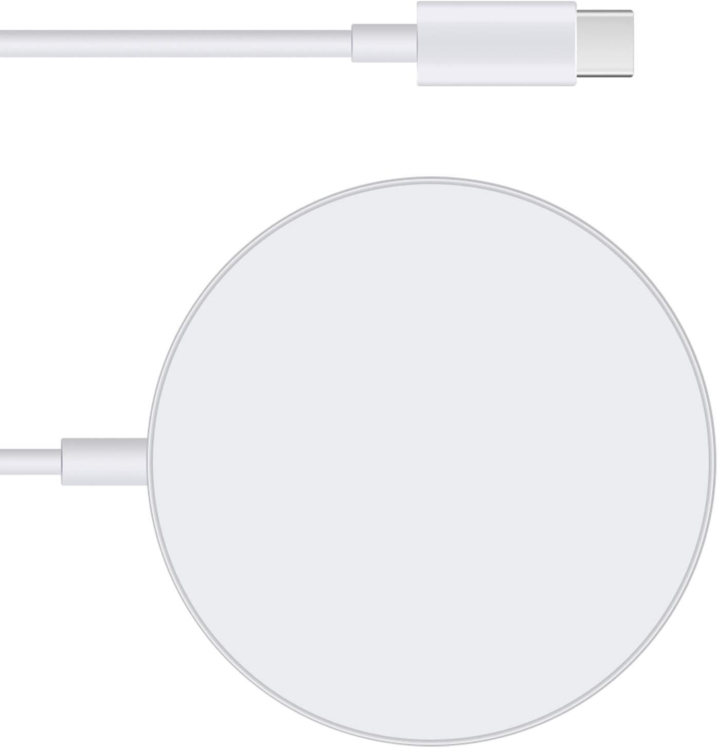 Cargador magnético inalámbrico p/Megasafe USB C  iPhone 12