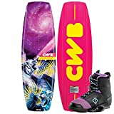 CWB Wild Child 136 Wakeboard Package with Ember Boots Womens