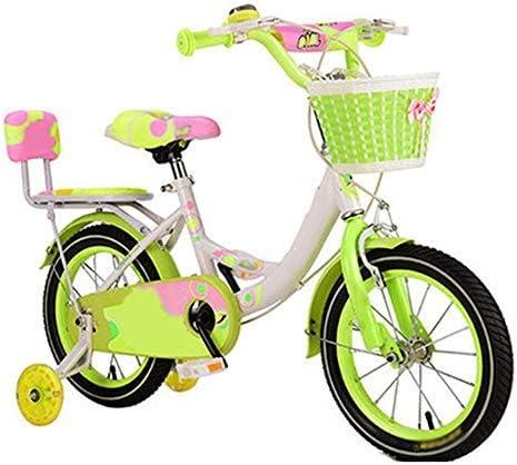 YSA キッズバイク12/14/16/18インチ、キッズバイク補助輪付き2-9歳の男の子と女の子へのギフト