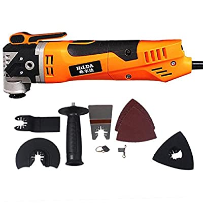 HATOLY Renovator Tool Oscillating Trimmer Woodworking Electric Saw Renovation Tool