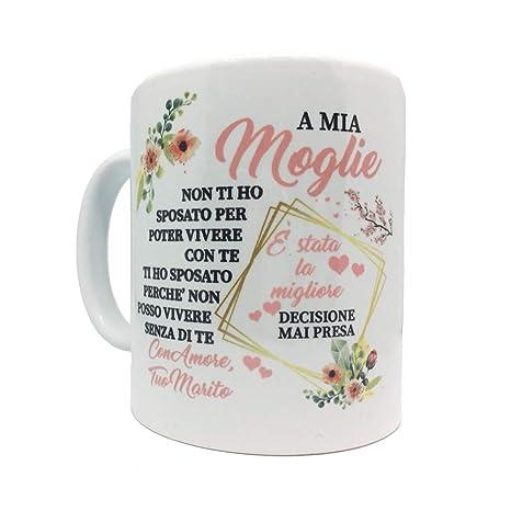 love print Tazza Coppia Innamorati Idee Regalo San Valentino Moglie ...